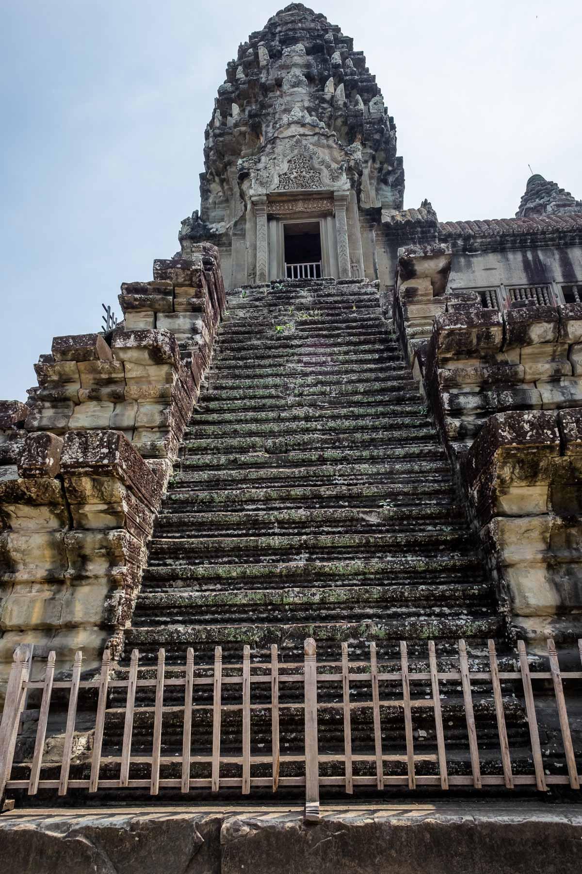 Angkor Wat tower Cambodia