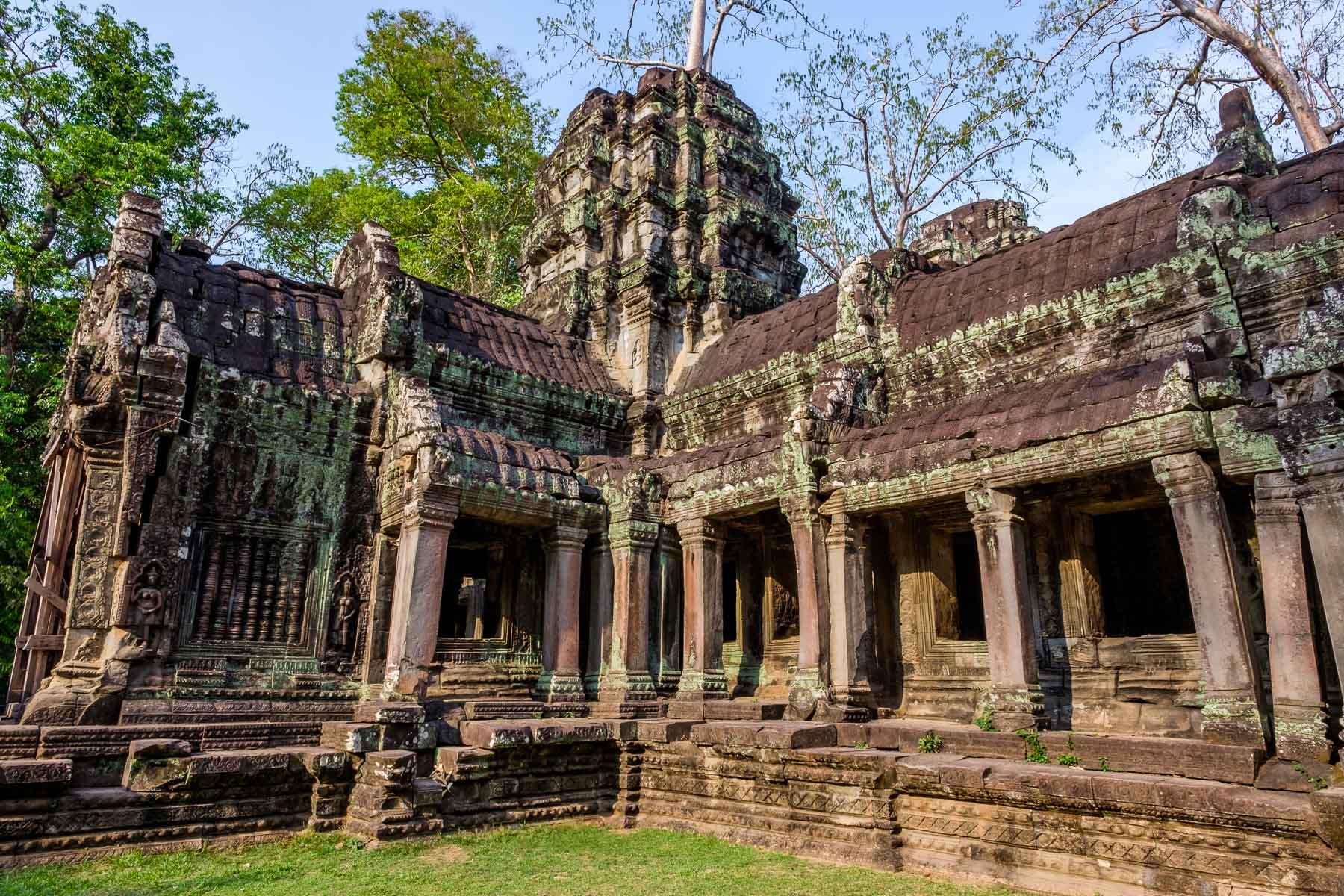 Ankor Thom Siem Reap Cambodia