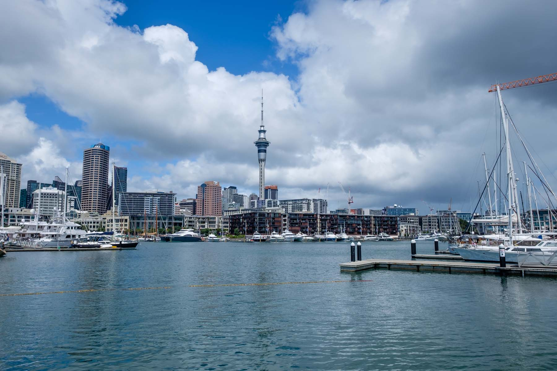 Cityscape Auckland New Zealand
