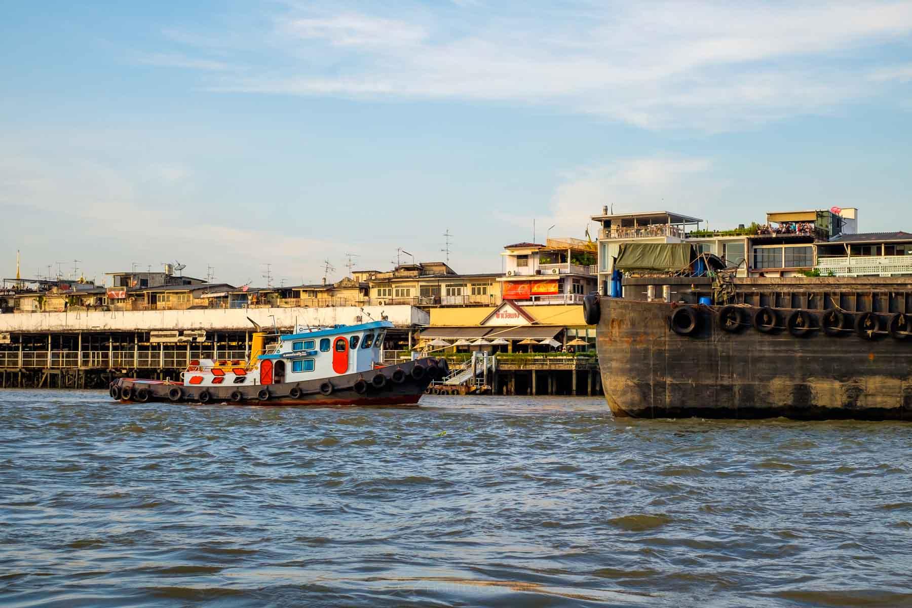 Boats Bangkok Thailand