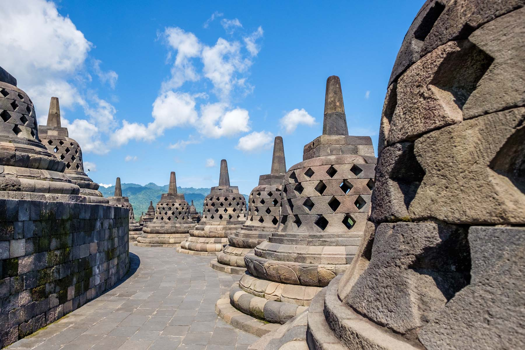 Borobudur Temple Lotus Bell