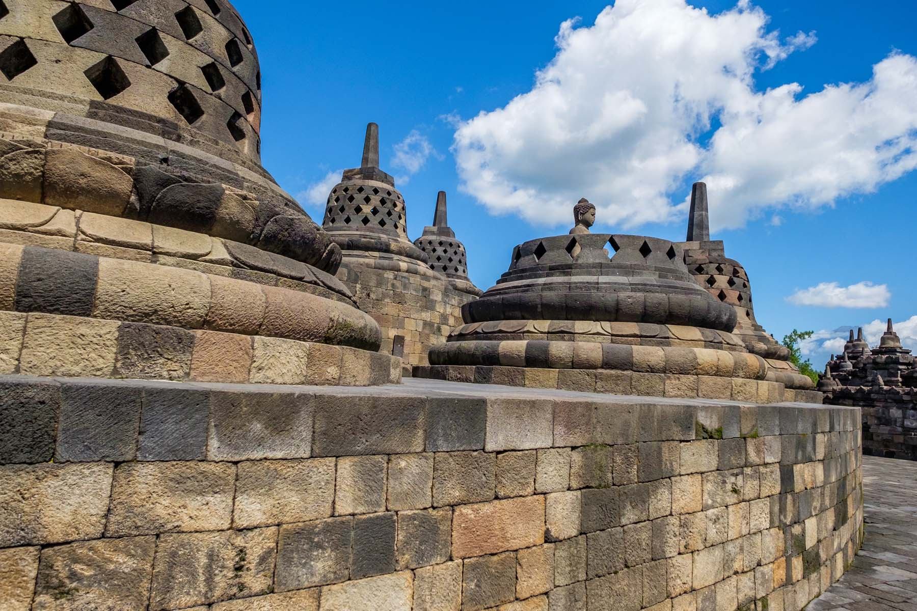 Buddha borobudur temple Indonesia