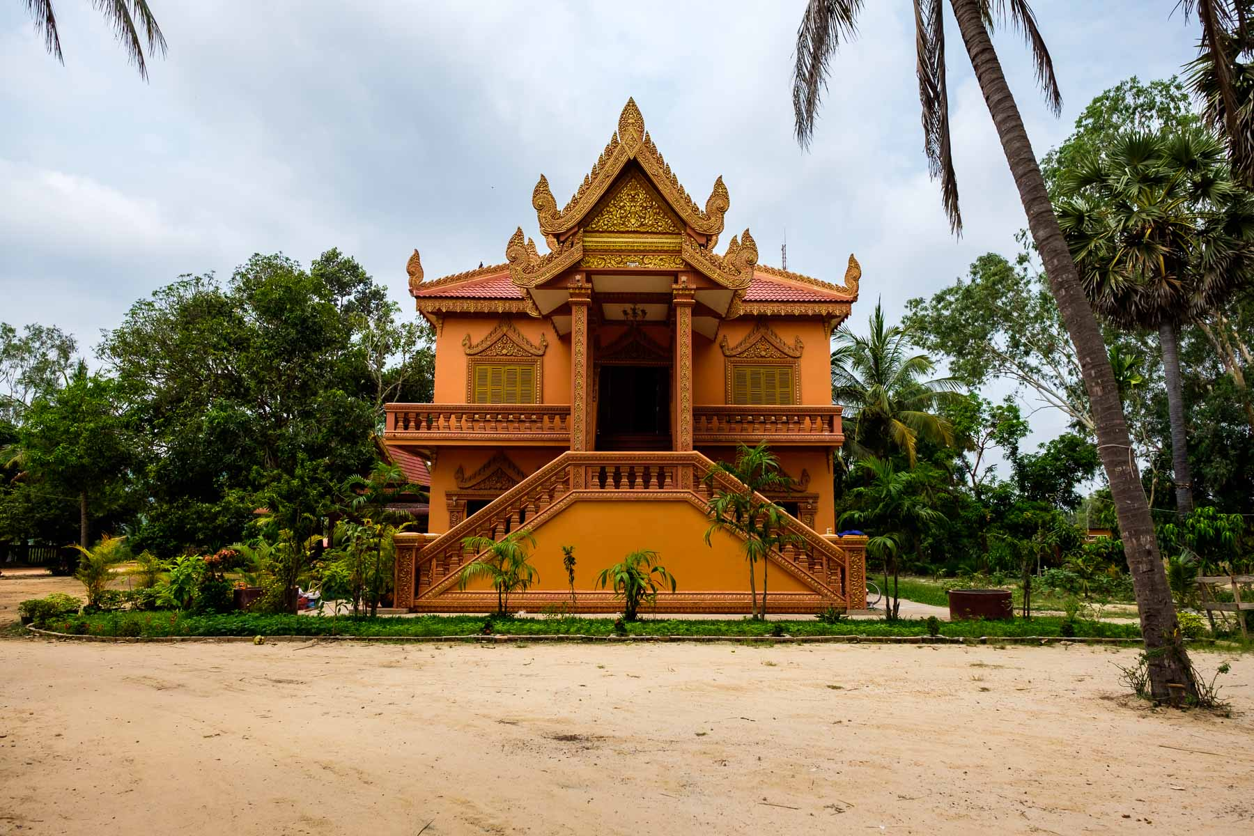 Building at Monastery Siem Reap Cambodia