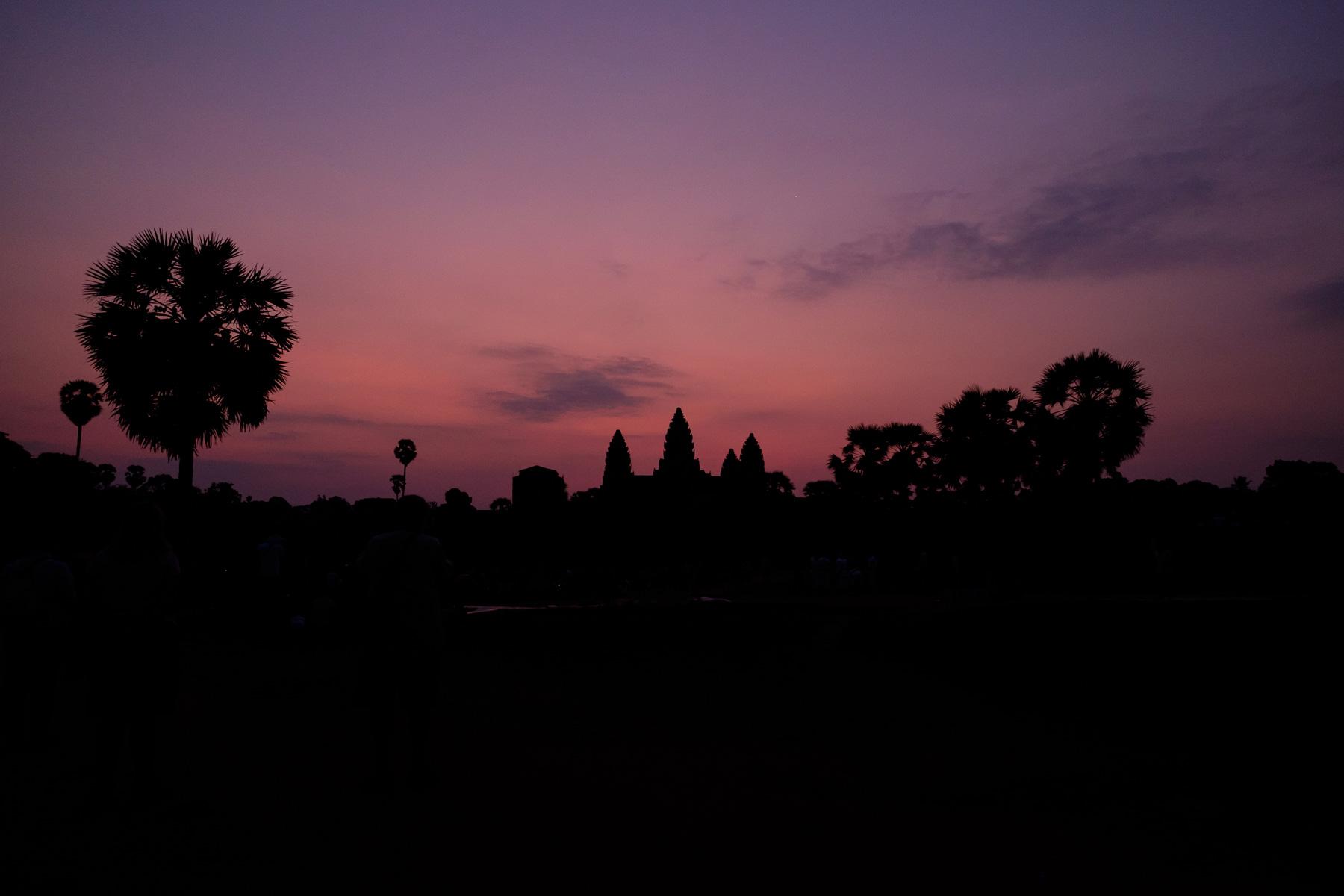 Dawn Angkor Wat Siem Reap Cambodia