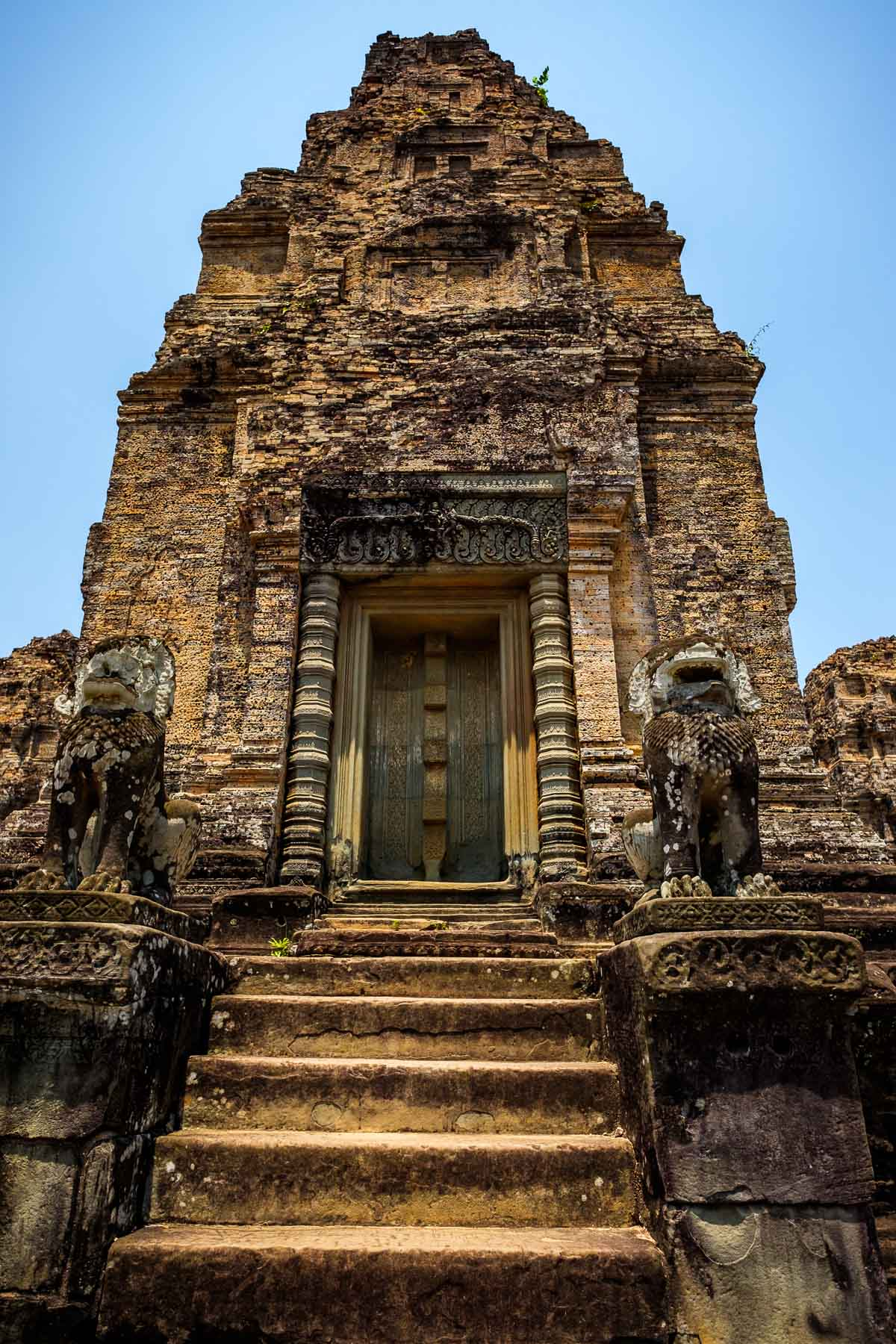 East Mebon temple Door Angkor