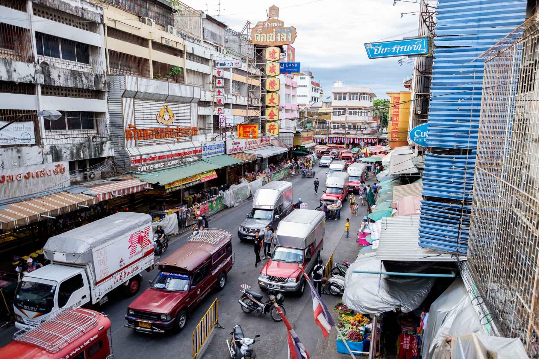Kad Luang Market Area Chiang Mai