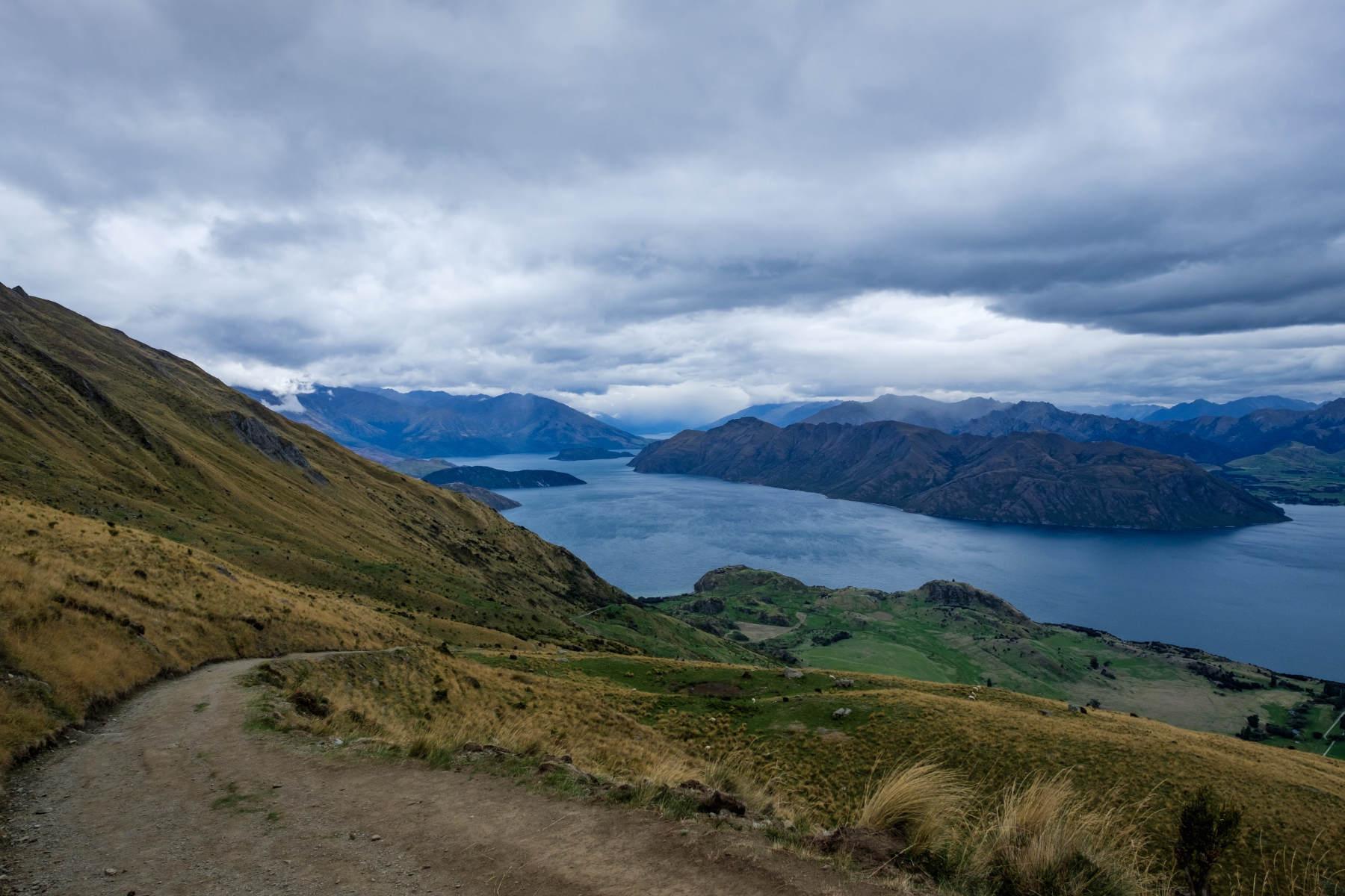 Lake Wanaka from Roys Peak New Zealand