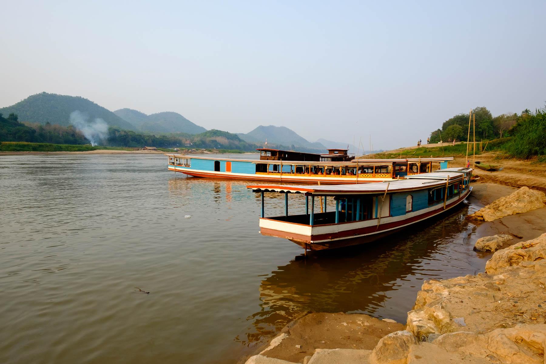 Long Boat in Luang Prabang Laos