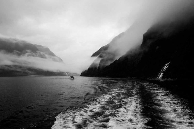 Milford Sound single ferry