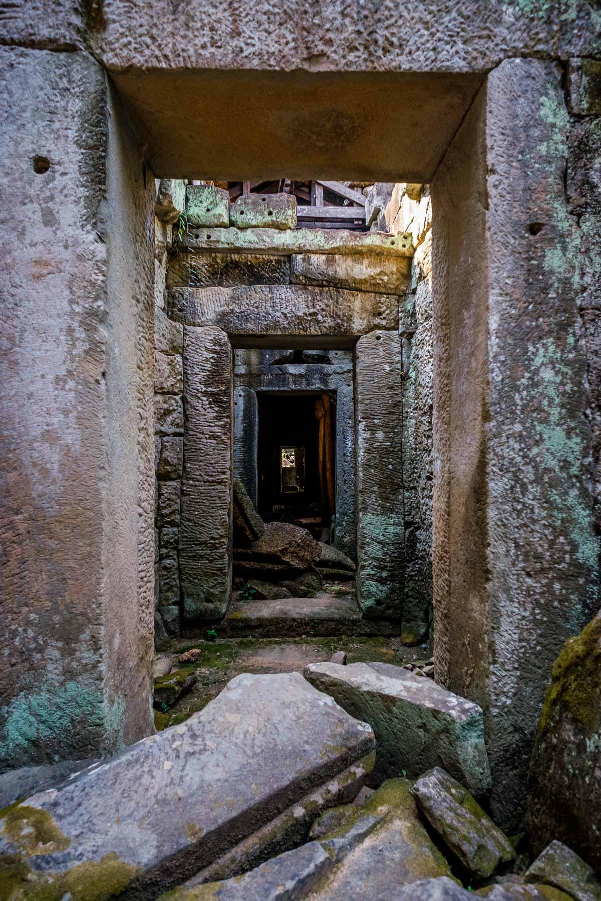 Preah Khan Doorway
