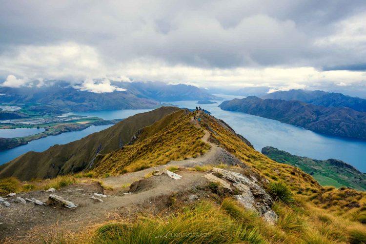 Roys Peak summit Wanaka New Zealand