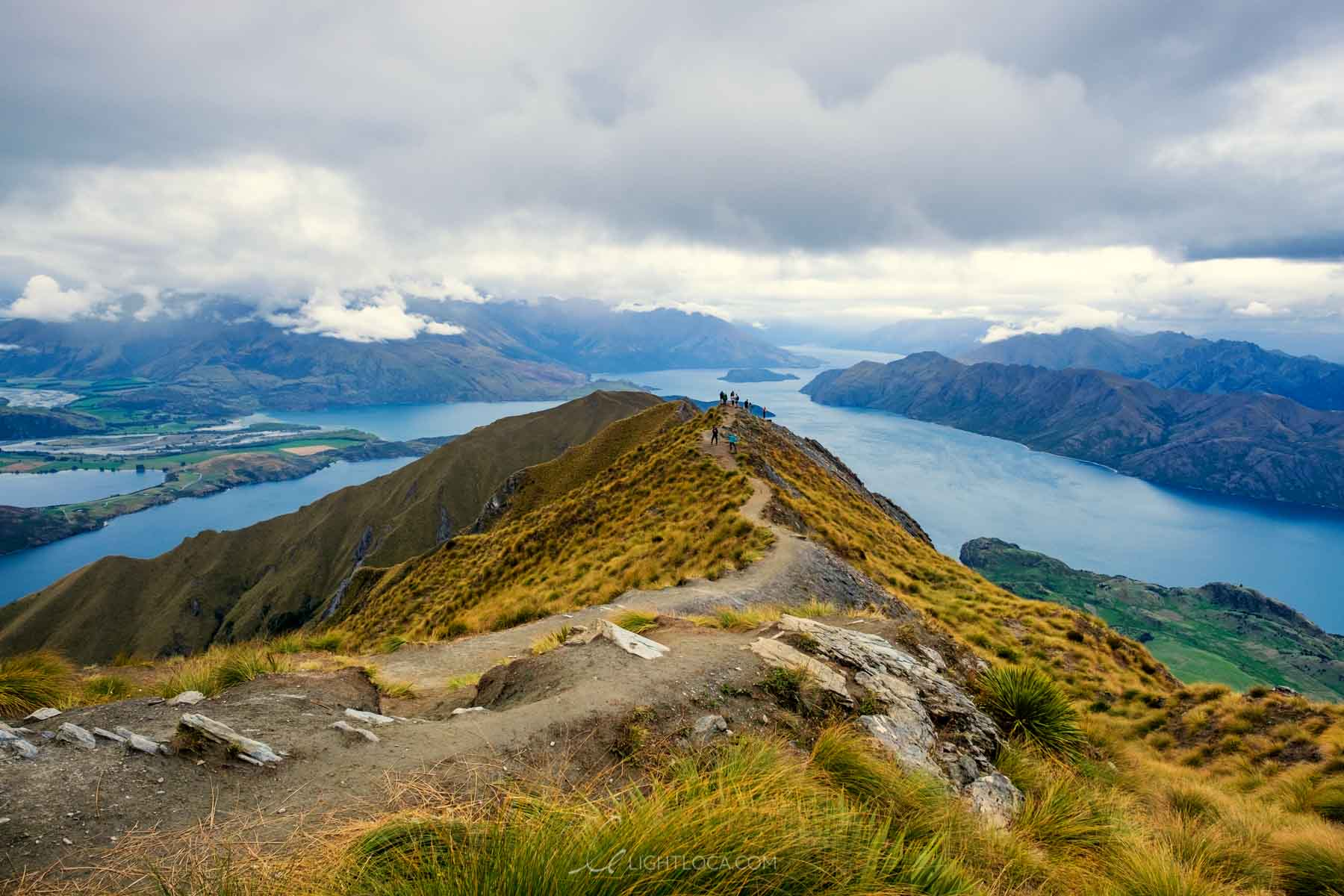 Roys Peak summit Wanaka New Zealand