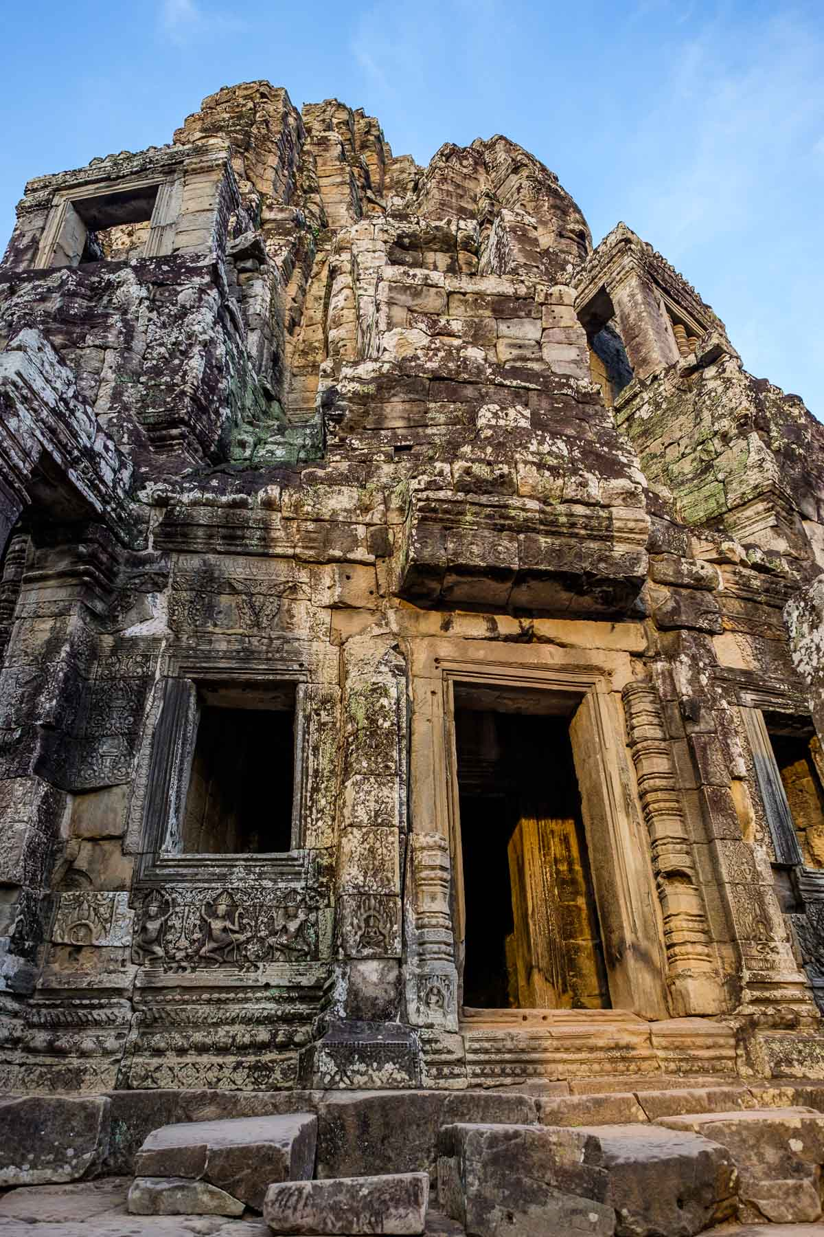 Tower Bayon Cambodia