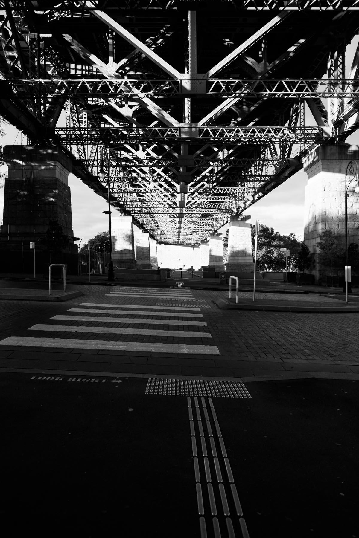 under the bridge sydney Australia