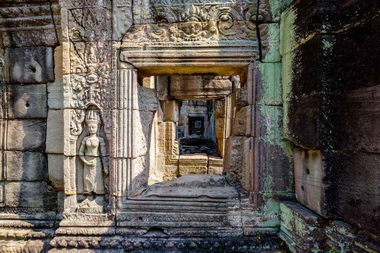 Preah Khan, Neak Pean, Ta Som Temple, Cambodia