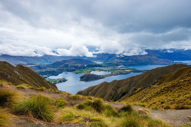 Wanaka view from Roys Peak New Zealand