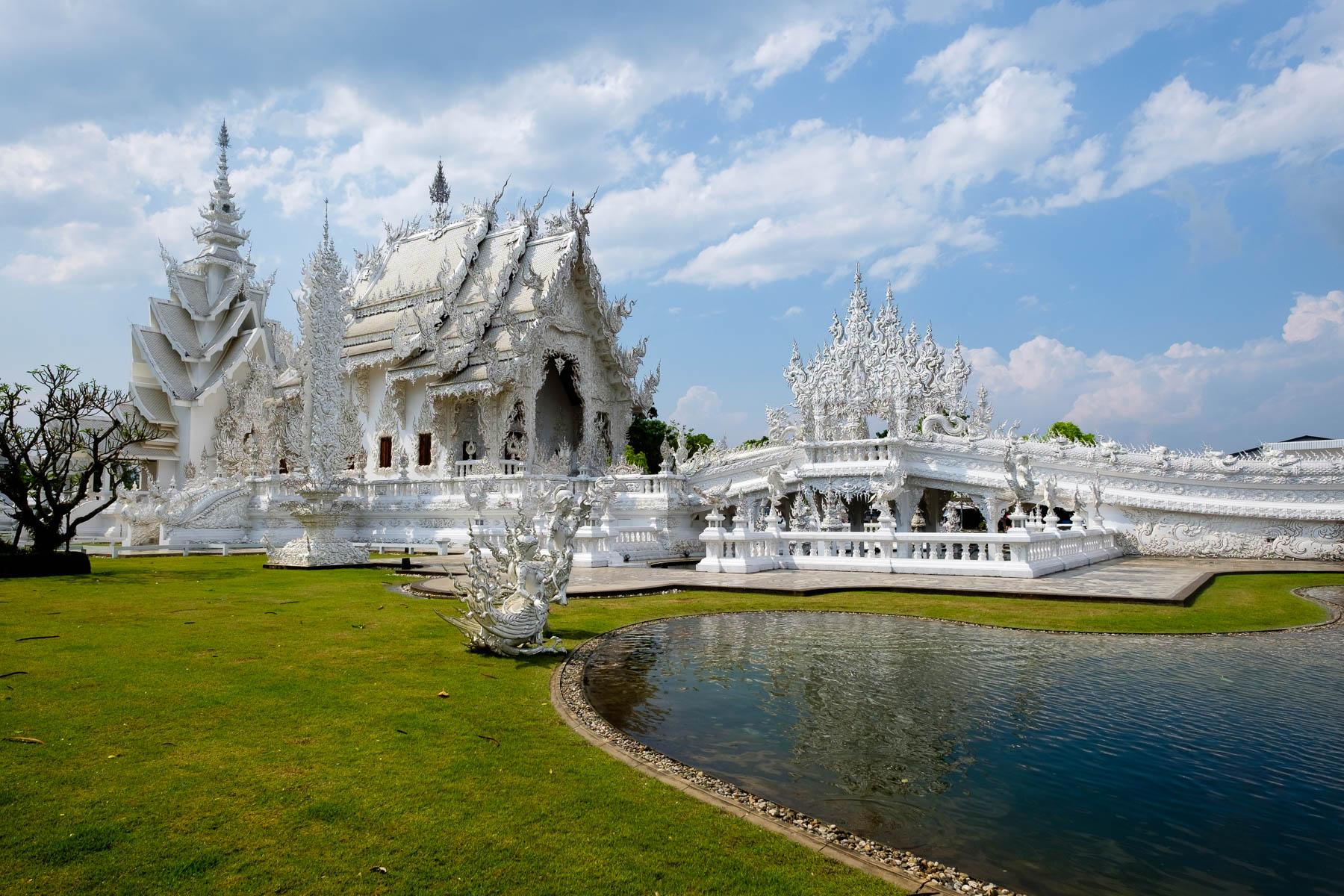 Wat Rong Khun White temple Chiang Rai Thailand Ting Fen Zheng