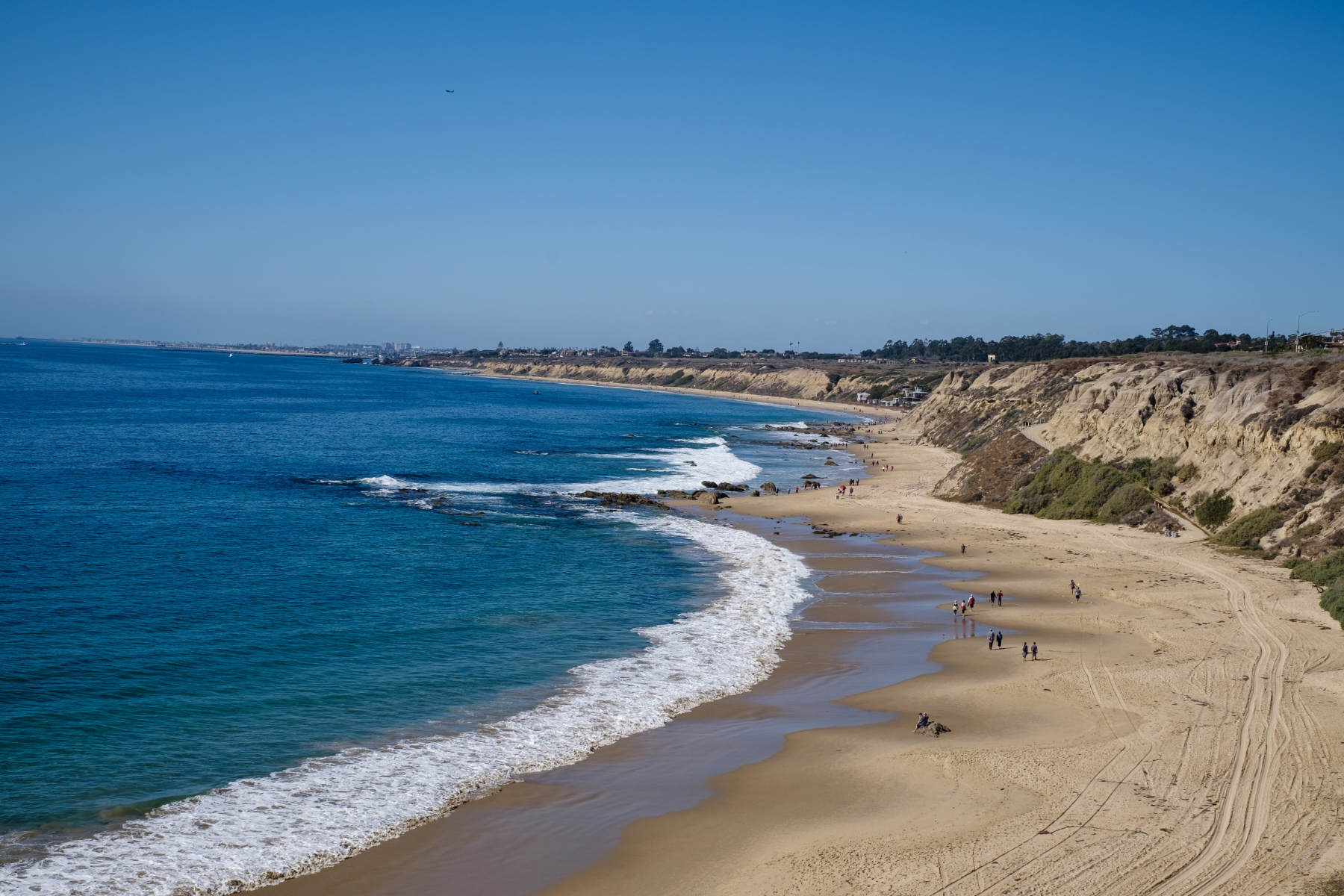 Crystal Cove beach in Los Angeles California