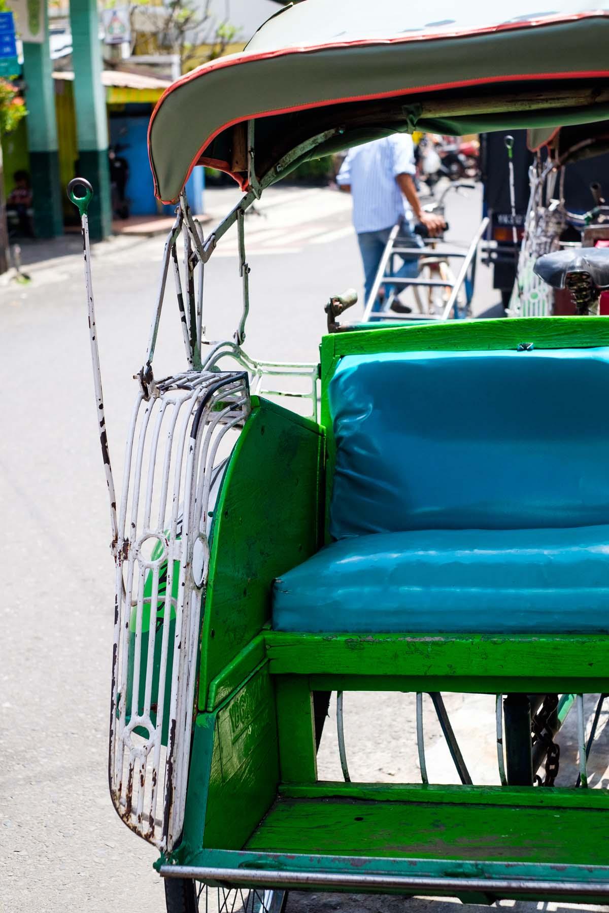 green tuktuk yogyakarta indonesia