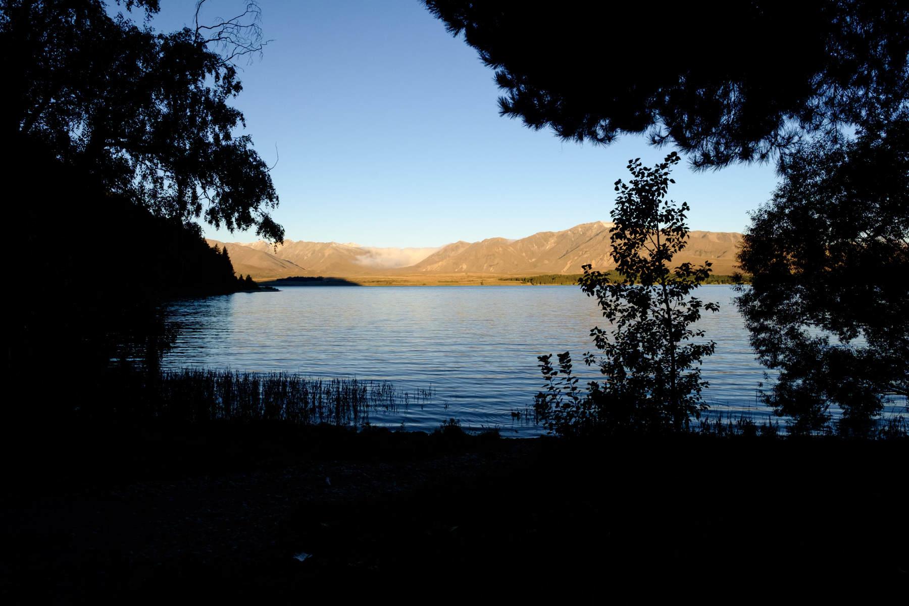 Lake Tekapo sunset new zealand