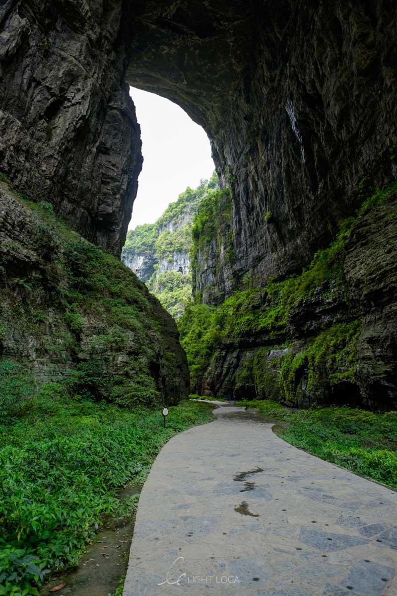 natural bridge wulong karst park