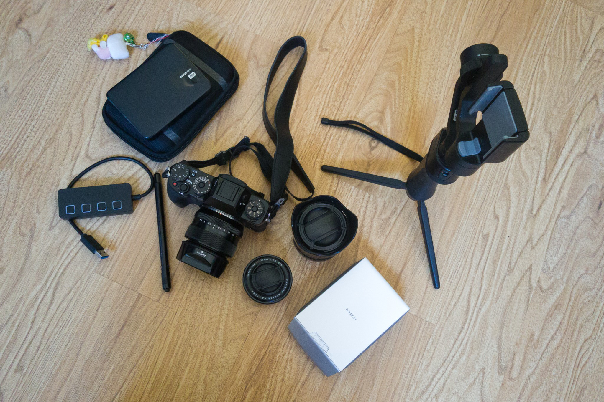photography gear while traveling