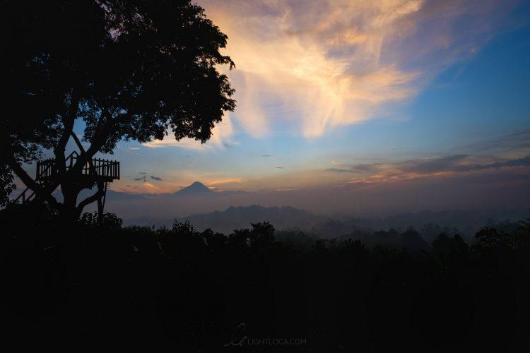 setumbu hill sunset sky lightloca