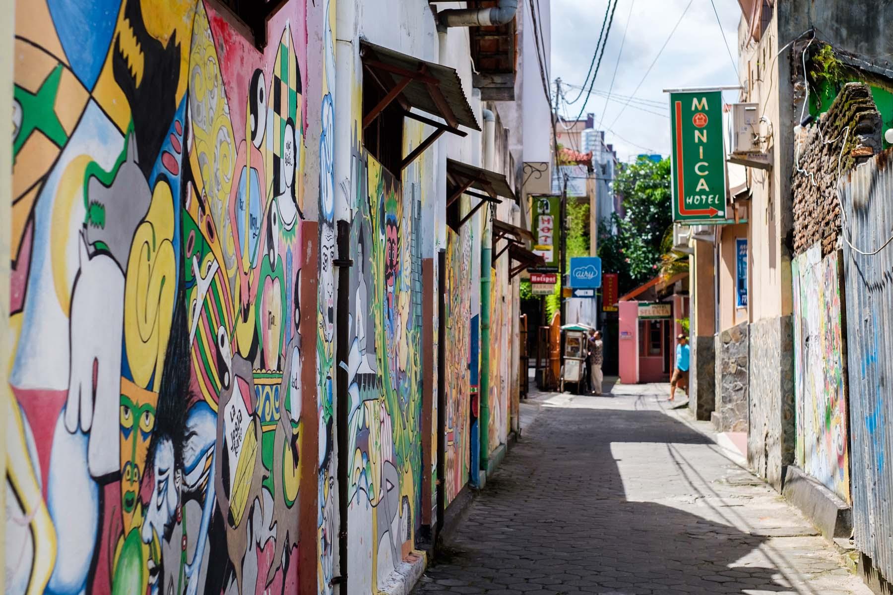 side street yogyakarta indonesia
