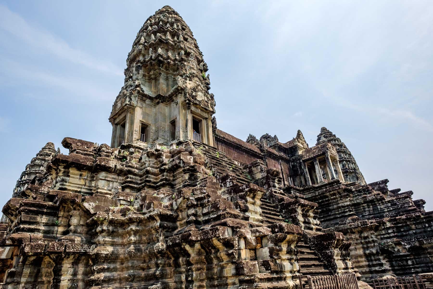Tower Angkor Wat Siem Reap Cambodia