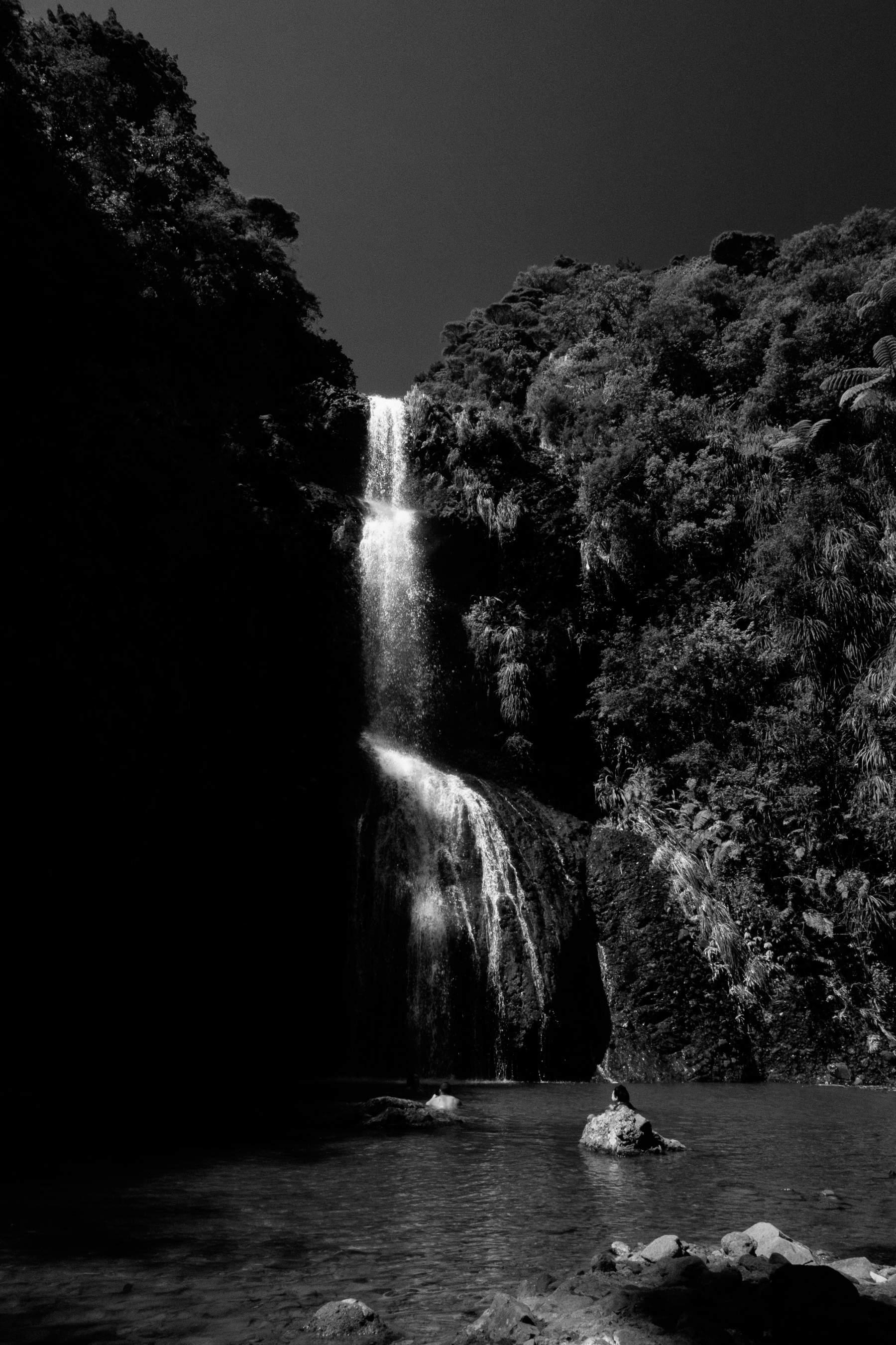Waterfall Piha New Zealand